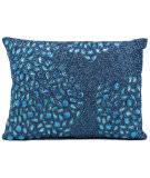 Nourison Pillows Luminescence E5000 Turquoise
