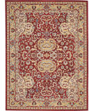 Nourison Majestic Mst04 Red Area Rug