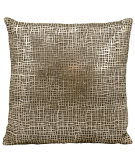 Nourison Pillows Laser Cut Es022 Gold Beige
