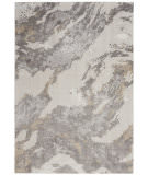 Nourison Silky Textures Sly03 Brown - Ivory Area Rug