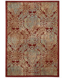 Nourison Graphic Illusions Gil09 Red Area Rug