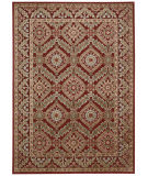 Nourison Graphic Illusions Gil24 Red Area Rug