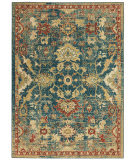 Nourison Traditional Antique Trq02 Teal - Blue Area Rug