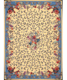Nourison Country Heritage H-358 Yellow Area Rug