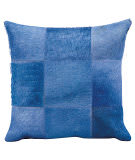 Nourison Pillows Natural Leather Hide Jh262 Ink