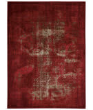 Nourison Karma Krm01 Red Area Rug