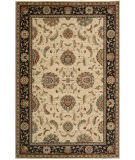 Rugstudio Sample Sale 23229R Ivory-Black Area Rug