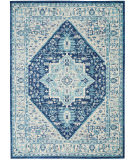 Nourison Tranquil Tra06 Ivory - Navy Area Rug