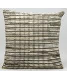 Nourison Pillows Natural Leather Hide M686 Grey