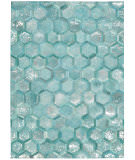 Michael Amini City Chic Ma100 Turquoise Area Rug