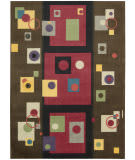 Nourison Modern Art MDR-05 Chestnut Area Rug