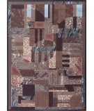 Nourison Modesto Mds07 Brown Area Rug