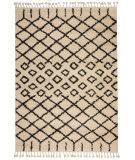 Nourison Moroccan Shag Mrs01 Cream Area Rug