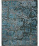Nourison Opaline Opa12 Charcoal Blue Area Rug