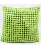 Nourison Pillows Pom Pom36 Green