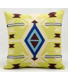 Nourison Pillows Wool Q2600 Citrine