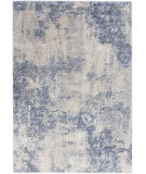 Nourison Silky Textures Sly01 Ivory - Blue Area Rug