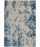 Nourison Rustic Textures RUS16 Grey - Blue Area Rug