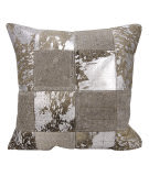 Nourison Mina Victory Pillows S6078 Grey Silver