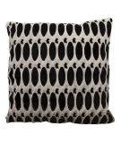 Nourison Mina Victory Pillows S6119 Grey Black