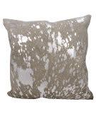 Nourison Mina Victory Pillows S6129 Grey Silver