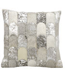 Kathy Ireland Pillows S6275 Silver Grey