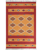 Nourison Baja Baj02 Yellow - Red Area Rug