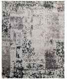 Nourison Silk Shadows Sha16 Silver - Grey Area Rug