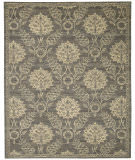 Nourison Silk Elements Ske31 Graphite Area Rug