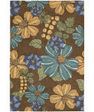 Nourison South Beach Sou04 Chocolate Area Rug