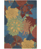 Nourison South Beach Sou07 Deep Sea Area Rug