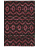 Nourison Spectrum Spe01 Burgundy Black Area Rug