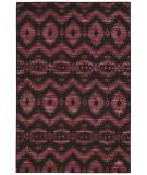 Nourison Spectrum Spe01 Burgundy Black Area Rug