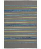 Nourison Spectrum Spe04 Grey Turquoise Area Rug