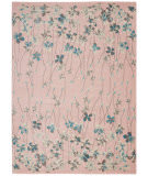 Nourison Tranquil Tra04 Pink Area Rug