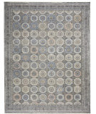 Nourison Starry Nights STN09 Grey - Navy Area Rug