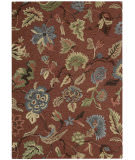Nourison Sunburst Sun03 Brick Red Area Rug