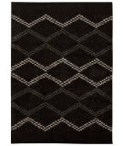 Nourison Tangier Tan01 Black Area Rug