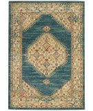 Nourison Traditional Antique Trq03 Teal - Blue Area Rug