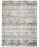 Nourison Twilight TWI10 Ivory - Navy Area Rug