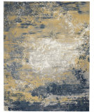 Nourison Twilight TWI22 Navy Gold Area Rug