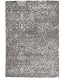 Nourison Damask Das06 Dark Grey Area Rug