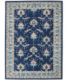 Nourison Tranquil Tra10 Navy - Ivory Area Rug