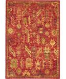 Nourison Jewel Jel04 Red Area Rug