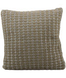 Nourison Pillows Woven Luster Vc305 Brown