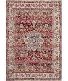 Nourison Vintage Kashan Vka01 Red Area Rug