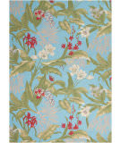 Nourison Wav01 Sun And Shade Snd46 Aqua Area Rug