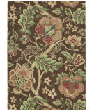 Nourison Waverly Global Awakening Wga01 Chocolate Area Rug