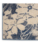 Nourison Tranquil Tra08 Beige - Navy Area Rug