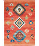 Nourison Tribal Decor Trl07 Red Area Rug